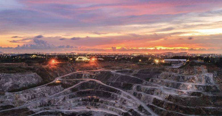 atividade mineradora