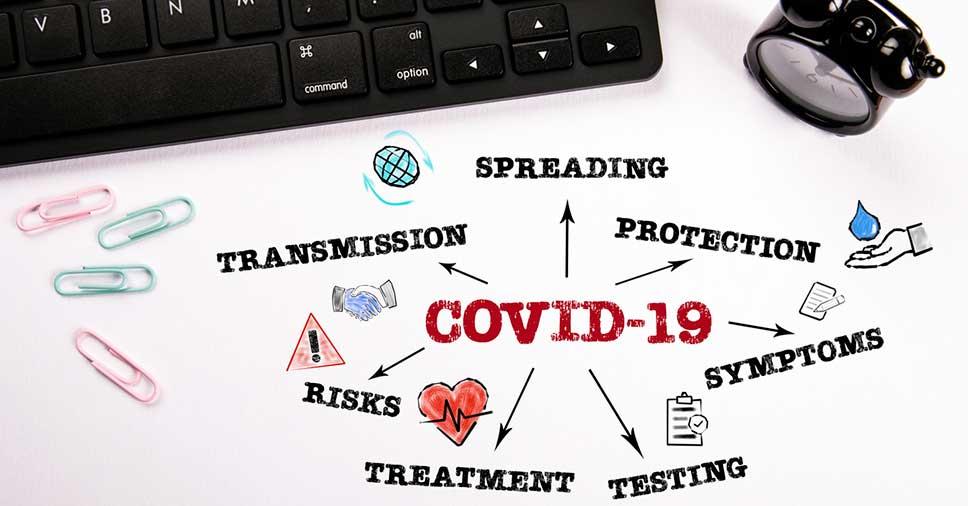 Quais são os modos de prevenir o coronavírus no ambiente de trabalho?